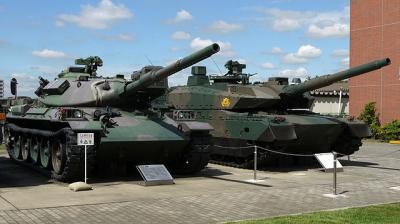 640px-Japanese_Type10_and_Type74_Tanks.JPG